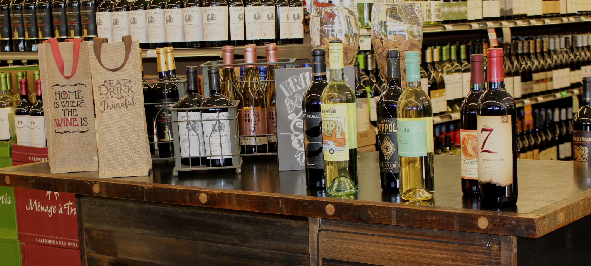 Welcome to County Line Wine & Spirits, Large Selection, Pick